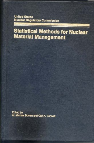 Statistical methods for nuclear material management