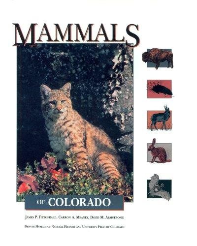 9780870813337: Mammals of Colorado