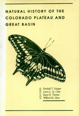 Natural History of the Colorado Plateau and: Kimball T. Harper;