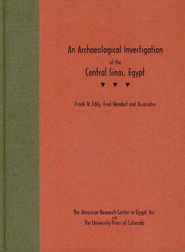 9780870815379: An Archaeological Investigation of the Central Sinai, Egypt