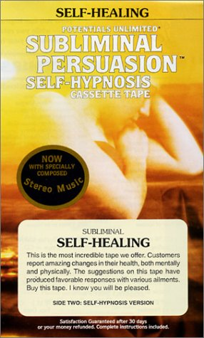 Self-Healing: A Subliminal Persuasion/Self Hypnosis: Konicov, Barrie L.
