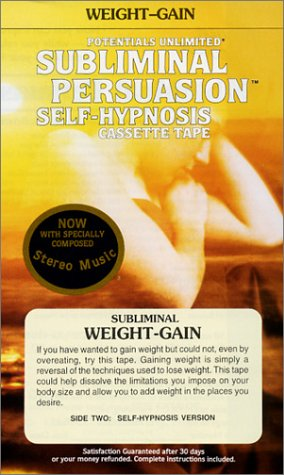 9780870823800: Weight-Gain: A Subliminal Persuasion/Self-Hypnosis