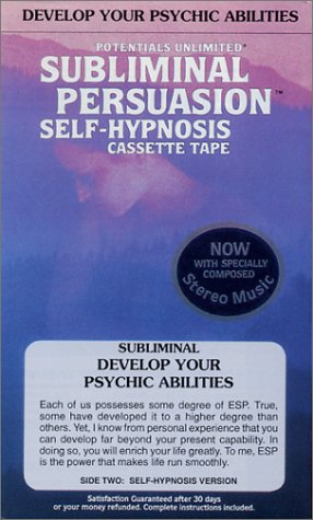 Develop Your Psychic Abilities: Subliminal Persuasion/Self-Hypnosis Tape: Konicov, Barrie