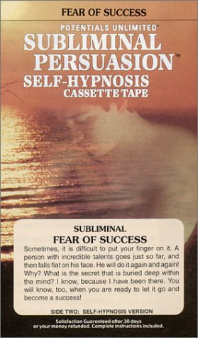 9780870824302: Fear of Success: A Subliminal Persuasion/Self-Hypnosis