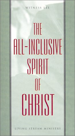 9780870830082: The All-Inclusive Spirit of Christ