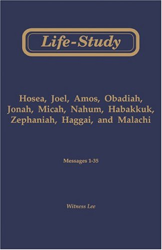 9780870836916: Life-Study of Minor Prophets