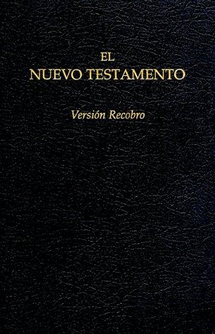 9780870838033: El Nuevo Testamento Version Recobro: Negro