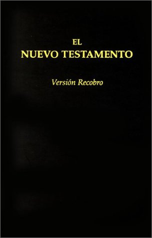 9780870838040: Nuevo Testamento, Versión Recobro (edición económica; granate; con notas) (Spanish Edition)