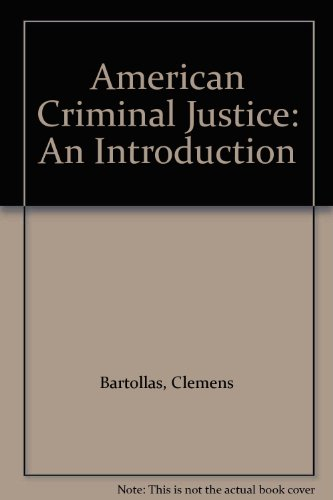 9780870840999: American Criminal Courts