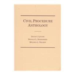 9780870841408: Civil Procedure Anthology