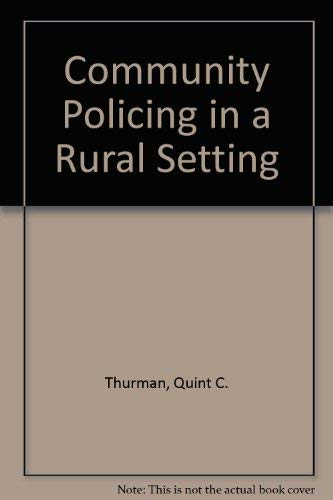 9780870841897: Community Policing in a Rural Setting
