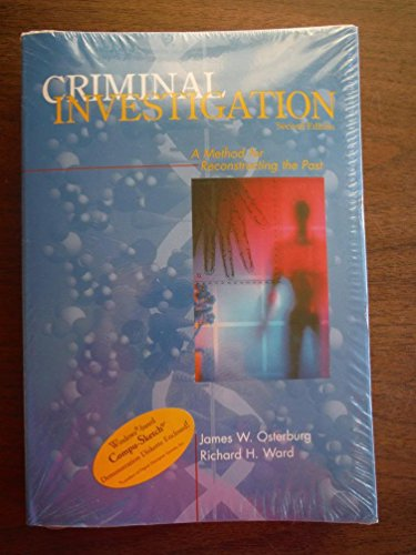 9780870842375: Criminal Investigation: A Method for Reconstructing the Past
