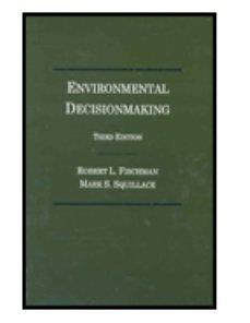 9780870843082: Environmental Decisionmaking : Environmental Decisionmaking: Statutes and Regulations