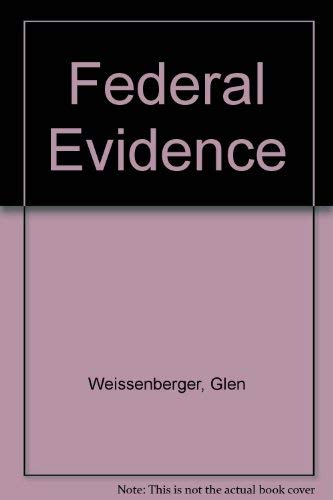 9780870843129: Federal Evidence