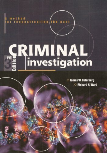 9780870843303: Study Guide for Criminal Investigation: A Method for Reconstructing the Past