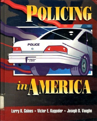 9780870844225: Policing in America