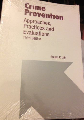 9780870845130: Crime Prevention: Approaches, Practices and Evaluations