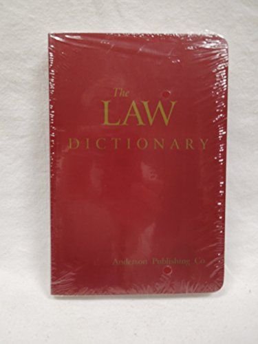9780870845178: The Law Dictionary