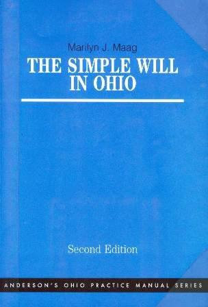 9780870845475: The Simple Will in Ohio