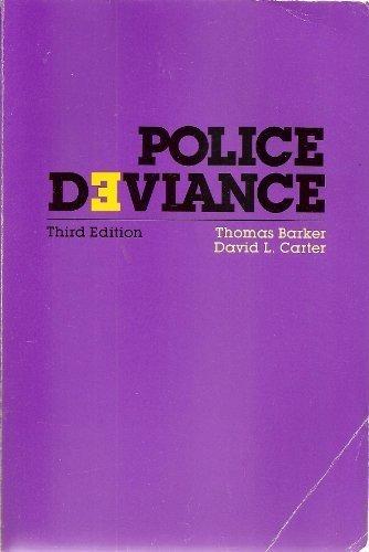 9780870847141: Police Deviance