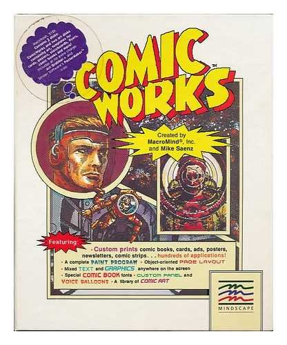 9780870851827: Comic works / created by MacroMind, inc. and Mike Saenz