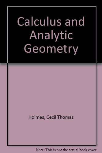 9780870929618: Calculus and Analytic Geometry