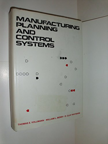 9780870944529: Manufacturing planning and control systems