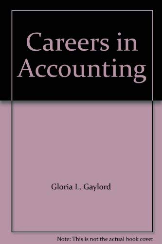 9780870945472: Careers in Accounting [Paperback] by