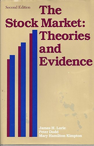 9780870946189: The Stock Market: Theories and Evidence