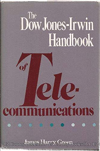 9780870946615: Dow Jones-Irwin Handbook of Telecommunications