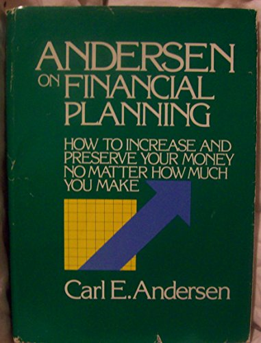 On Financial Planning (0870946633) by Carl E. Andersen