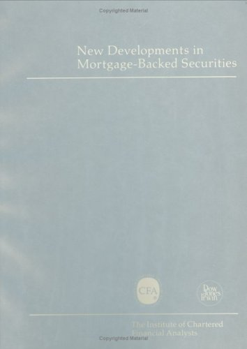 New Developments in Mortgage-Backed Securities: Richard T. Pratt,