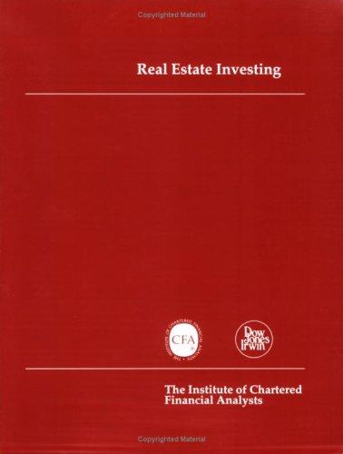 9780870947599: Real Estate Investing