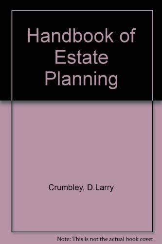 Handbook of Estate Planning