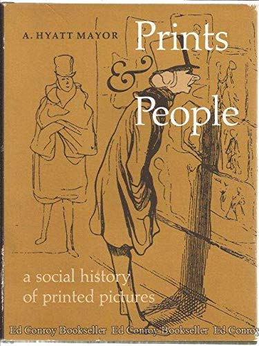 9780870991080: Prints & People: A Social History of Printed Pictures