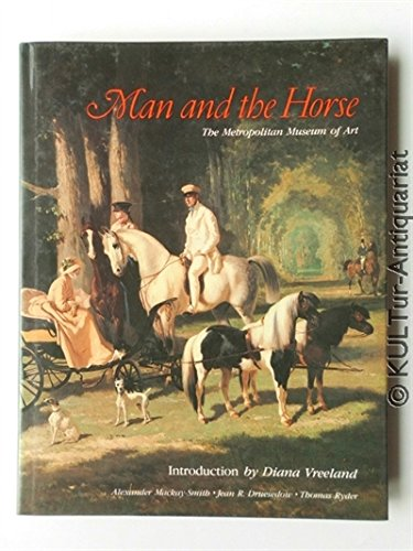 9780870994111: Man and the horse: An Illustrated History of Equestrian Apparel
