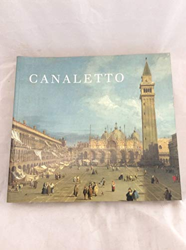 9780870995590: Canaletto