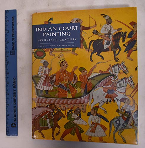 9780870997822: Indian Court Painting: 16th-19th Century