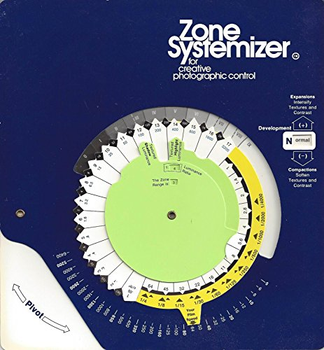 9780871000408: Zone Systemizer for Creative Photographic Control