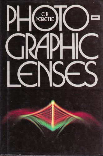 9780871000705: Photographic Lenses