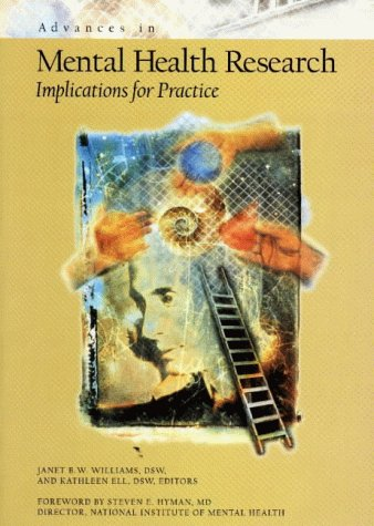 9780871012913: Advances in Mental Health Research: Implications for Practice