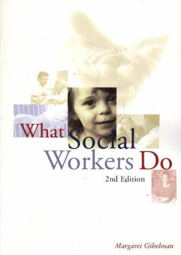 9780871013644: What Social Workers Do