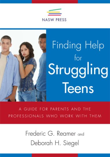 9780871013736: Finding Help for Struggling Teens: A Guide for Parents And the Professionals Who Work With Them