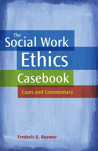 9780871013835: The Social Work Ethics Casebook: Cases and Commentary