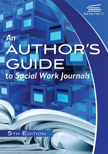 9780871013927: An Author's Guide to Social Work Journals