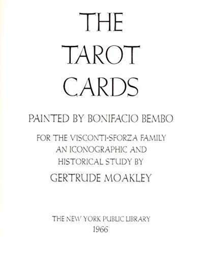 9780871041753: Tarot Cards Painted by Bonifacio Bembo for the Visconti-Sforza Family