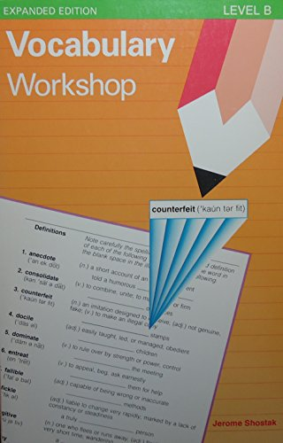 9780871051721: Vocabulary Workshop: Level B