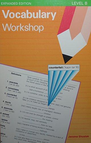 9780871051721: Vocabulary Workshop: Level B