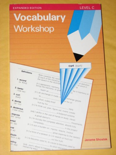 9780871051738: Vocabulary Workshop (Expanded edition Level C)