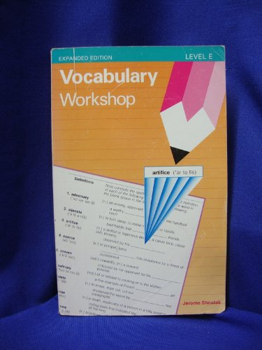 9780871051752: Vocabulary Workshop (Level E)